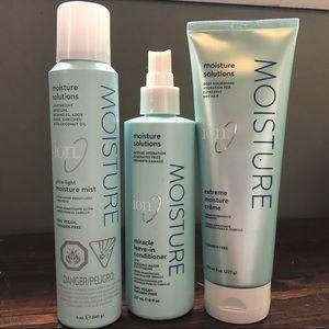 Ion Moisture hair care 💦
